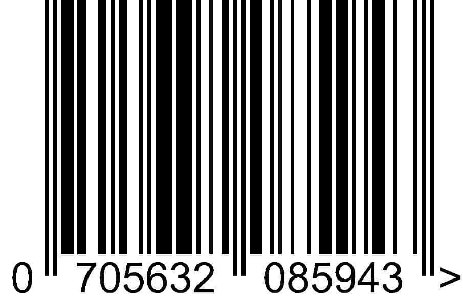 EAN barcode for retail products